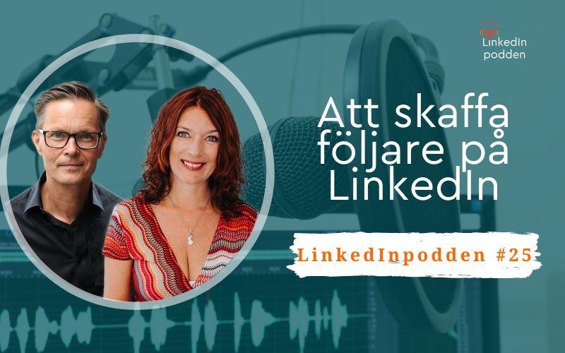 följare på LinkedIn