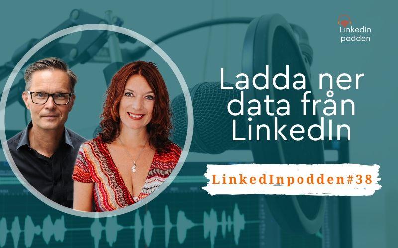 ladda ner data LinkedIn