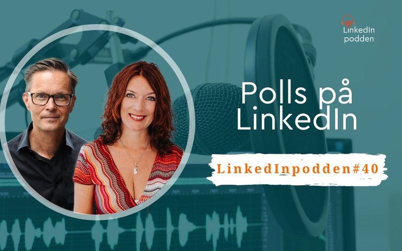 polls på LinkedIn