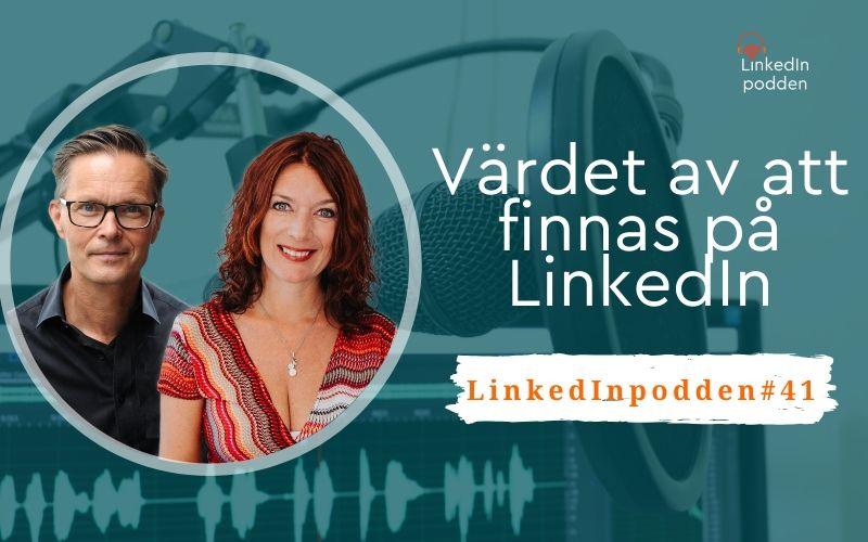 värdet av LinkedIn