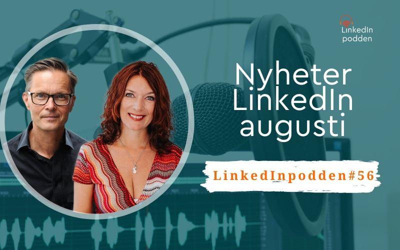 nyheter linkedin augusti