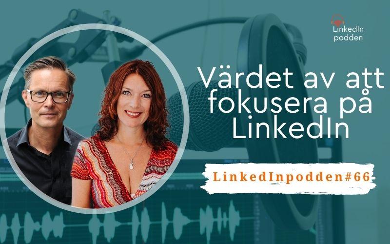 fokusera på LinkedIn