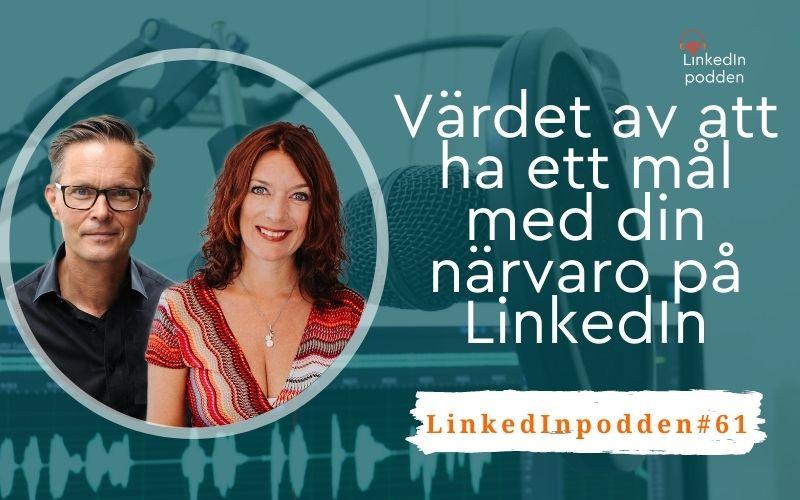 mål med LinkedIn