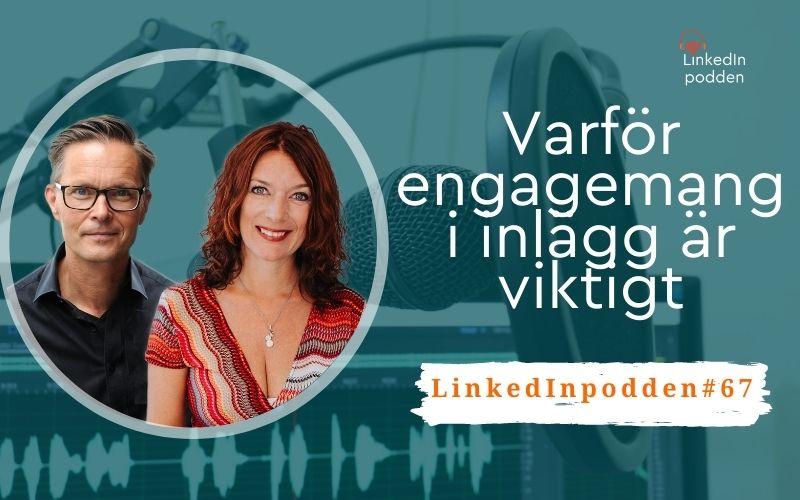 engagemang inlägg LinkedIn