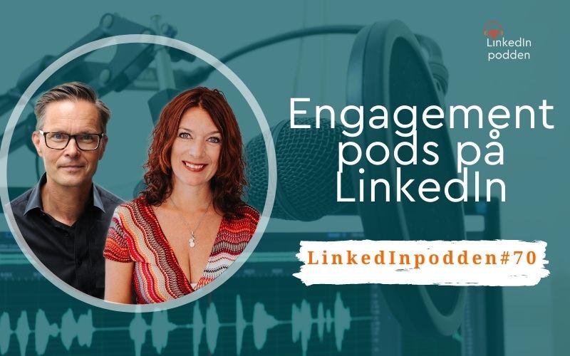 Engagement pods LinkedIn