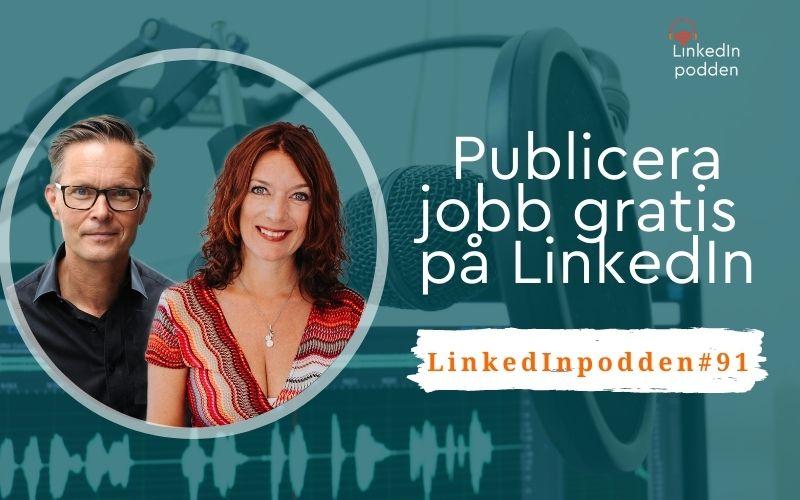 jobb gratis linkedin
