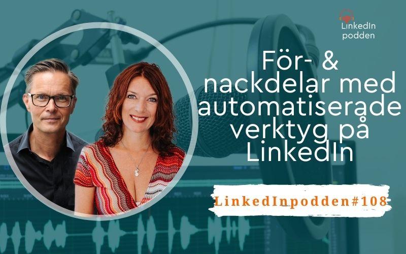 automatiserade verktyg LinkedIn