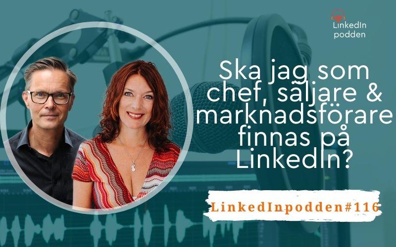 sälj chef LinkedIn