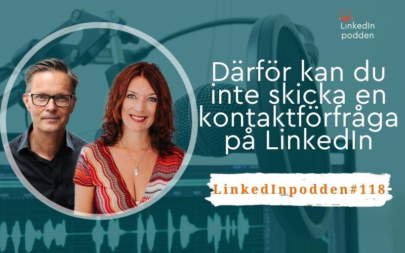 kontaktförfrågan LinkedIn