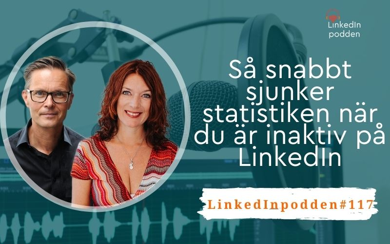 sjunker statistik linkedin