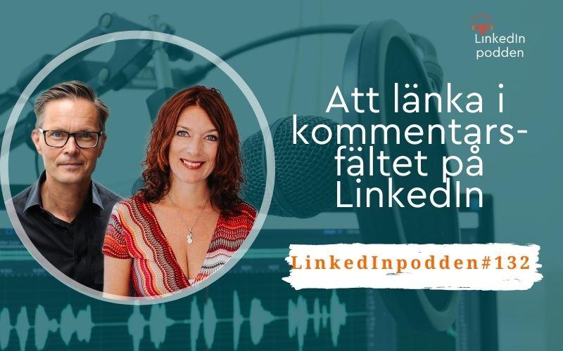 länk kommentar LinkedIn