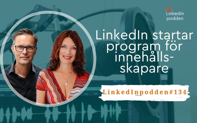 program innehållsskapare LinkedIn