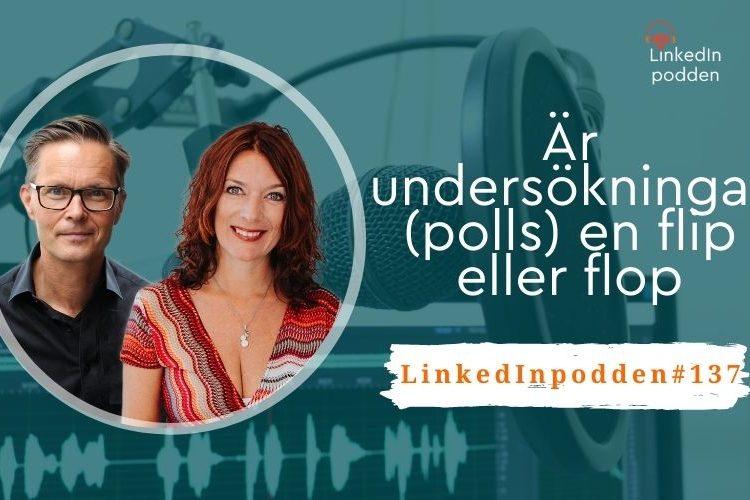 polls undersökning LinkedIn